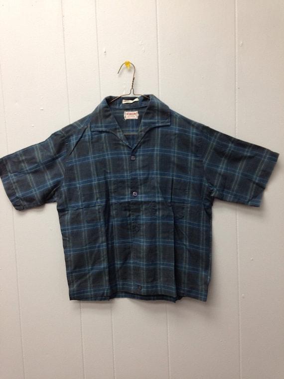 1950s McGregor Shirt Jac short sleeve shirt qegNSR