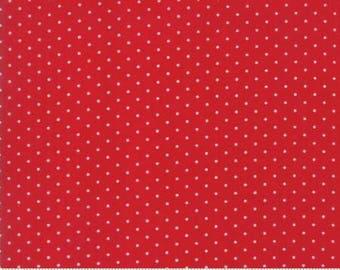 Sugar Plum Christmas Candy Red 2918 16 - Moda Fabrics 100% Cotton Quilting Fabric Bunny Hill Designs