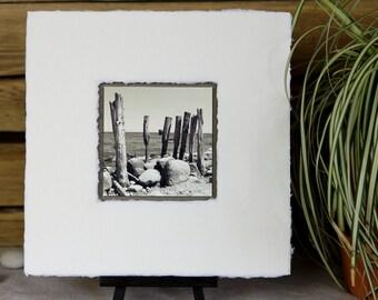 "Photo, Picture, collage, ""Kap Arkona"" 20 x 20"