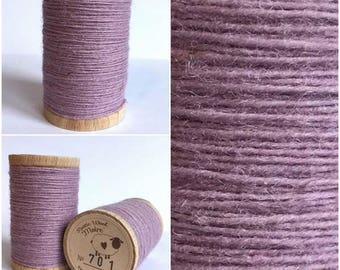 Rustic Moire Wool Thread #701 for Embroidery, Wool Applique and Punch Needle Embroidery