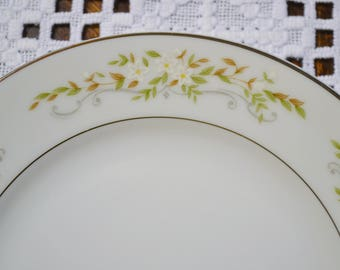 Vintage International Silver Springtime Bread Plate Floral Design 326 Replacement Made in Japan PanchosPorch