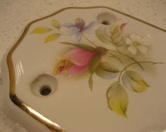 BOGO 40 OFF SALE Vintage Porcelain Butlers Door Push Plate