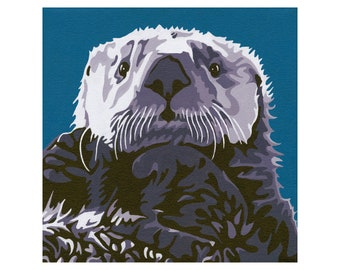 """Limited Edition Print - """"Sea Otter"""""""