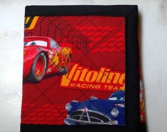 Disney CARS Quilted Wallet - Kids Wallet Lighting McQueen & Mater