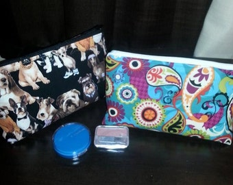 Make Up Boxed Zipper Bag
