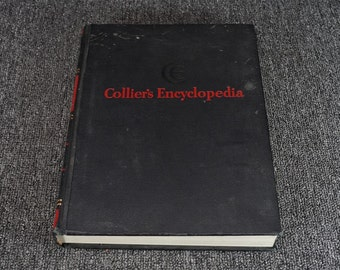 Collier's Encyclopedia Vol. 15 By P. F. Collier & Son C. 1952