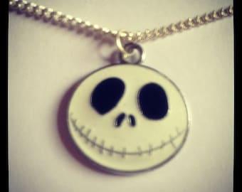 Nightmare Before Christmas Jack Skellington Pendant Necklace