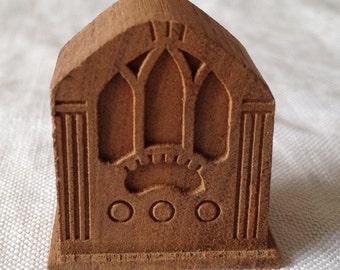 Small wooden radio
