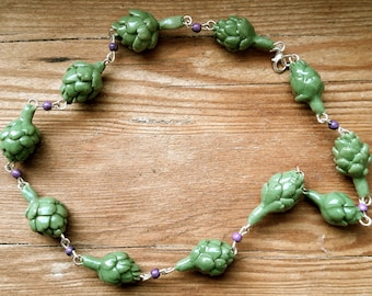 Artichoke Necklace