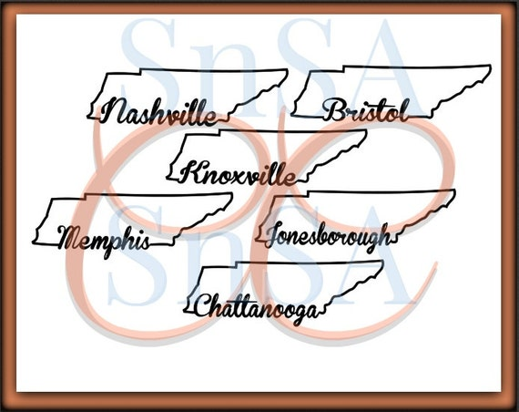 Tennessee svg state outline nashville memphis knoxville jonesborough chattanooga bristol home heart love country sign 18 cricut vinyl decal from