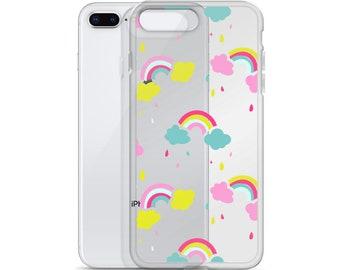 Rainbow iPhone Case, iPhone 6 Case, iPhone 6s Case, iPhone 6 Plus Case, iPhone 7 Case, iPhone 8 Case, iPhone X Case, iPhone 8 Plus Case