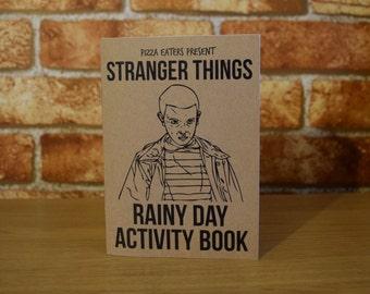 Stranger Things Rainy Day Colouring & Activity Book