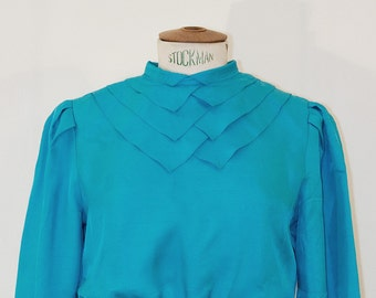 80s Turquoise dress