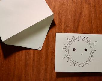 Sunshine Card - Love
