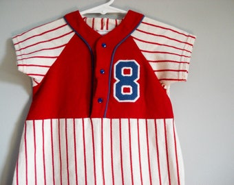 Buster Brown baseball outfit - 24 months