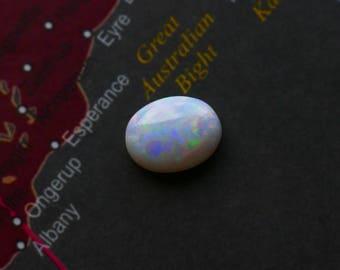 8 mm Australian Opal Gemstone Cabochon - Oval Polished Opal Cab
