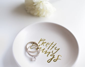 Pretty things/ Ring dish/ jewelry dish