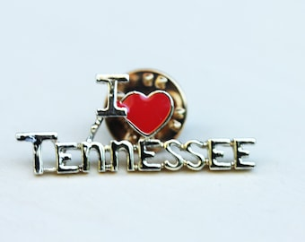 I Love Tennessee Pin