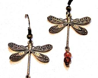 Summer Dragonfly Earrings