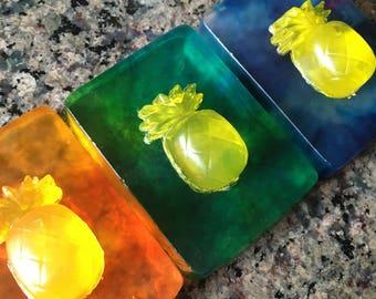 Pineapple Soap Bars