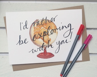 Valentines Card / Friend Card