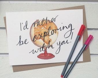 Valentines Card / Freund Karte