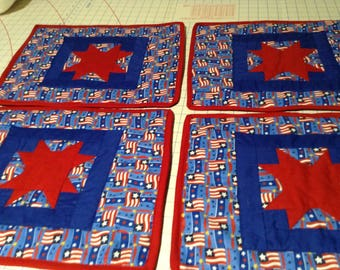 Quilted place mats
