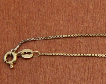 9 ct solid gold chain