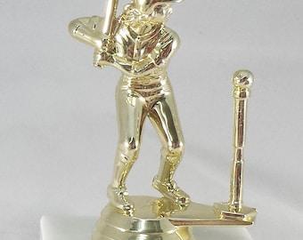 10(TEN) Female T-Ball Trophies - Tee Ball Awards - Kids Trophy - Tee Ball Team Awards - Girls T-Ball Trophies