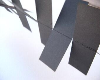Halloween Paper Garland - Black