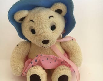 Noddy  Character Enid Blyton TESSA BEAR Plush  Toy Soft Toy Noddy Golden Bears