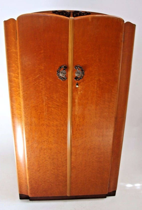 Original 1960 S C W S Ltd Cabinet Factory Art Deco
