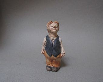Edmund: A one of a kind handmade porcelain sculpture