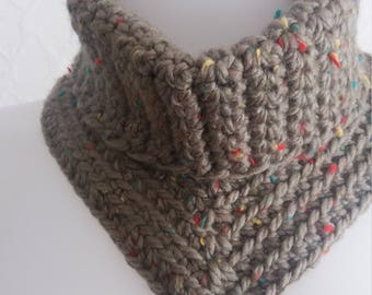 Crochet Cowl neck, neck warmer