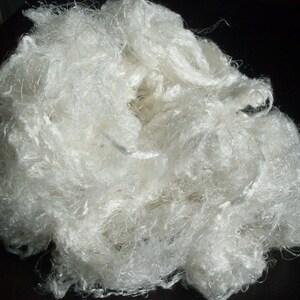 20 gr- 0,70 oz, Mulberry Silk Fiber Throwster Waste