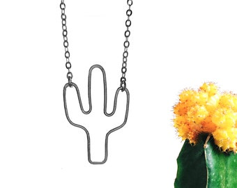 Boho Necklace, Nature Lover Gift, Succulent Necklace, Cactus Necklace, Succulent Gift, Boho Jewelry, Southwestern Wedding, Desert Wedding