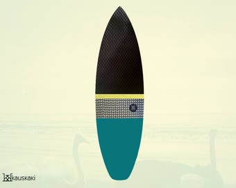 Waffle Truffle   Surfboard Sock   Cold Water