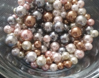 Acrylic Beads, Various Size Acrylic Beads, Jewelry Making Supplies, Beads