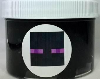 Enderman Slime Inspired by Minecraft