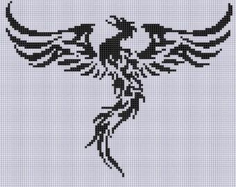 Phoenix 2 Cross Stitch Pattern