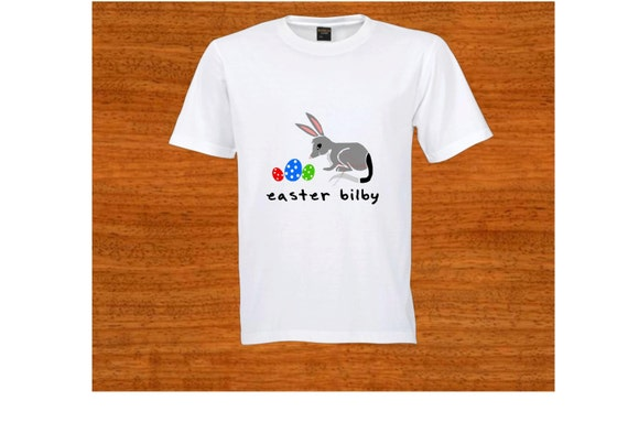 Child t shirt easter bilby australia bilby birthday gift like this item negle Choice Image