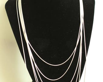 """Sterling Silver chain in lengths from 18"""" to 30"""""""
