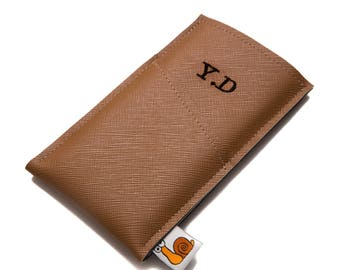 Personalized iPhone X Wallet Case, iPhone 7 Sleeve, iPhone 8 Plus Sleeve.
