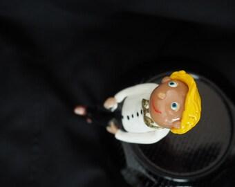Custom made Ring boy figurine wedding gift