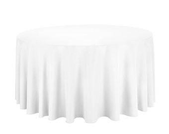 120u201d Round Tablecloth