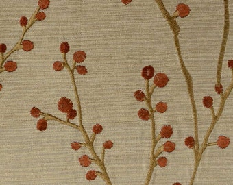 Duralee Rattan Embroidered 2 yards