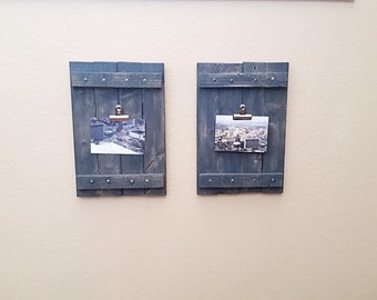 Pallet Picture Frame - Picture Frame - Wood Picture Frame - Rustic Picture Frame - Wooden Picture Frame - Photo Frame - Kitchen Decor