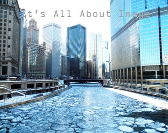 Digital Photography, Photography Download, Digital Download, Chicago, Urban Photography, Millennium Park, Illinois, Chicago River