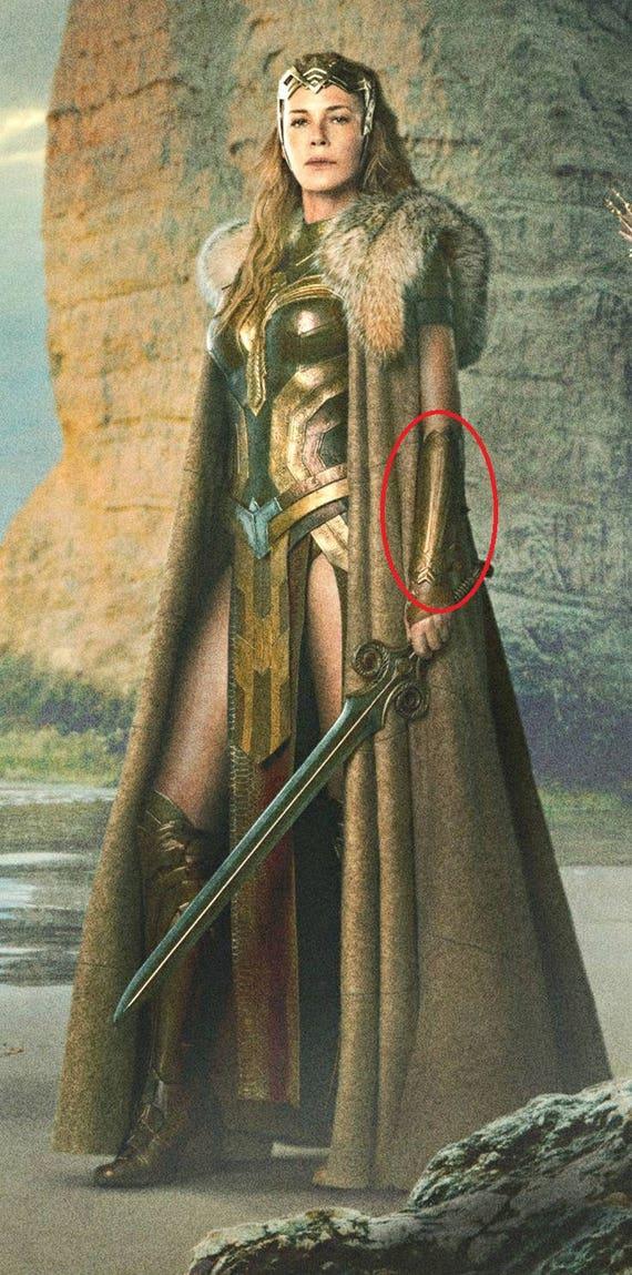 Greek Woman Warrior Wonder Woman Hippolyta...