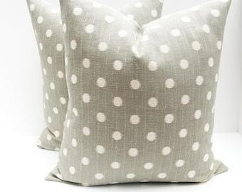 15% Off Sale GRAY PILLOW, Accent Pillow,Decorative pillow Covers, Pillow SET  Throw Pillows - Pillows - Gray Pillow Covers - Burlap Pillow -